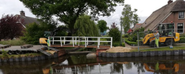 Nieuwe brug in Hoogeveen
